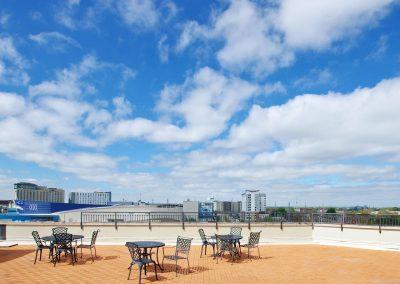 Centennial House Lofts Rooftop Patio